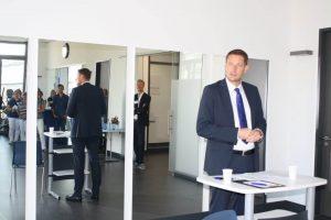 KörperManagement Eröffnung Bad Homburg Bürgermeister Alexander Hetjes