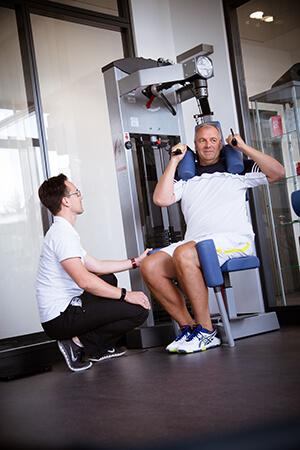 Persönliches Training im Institut in Bad Homburg, Gesundheitstraining, Aktive Pause