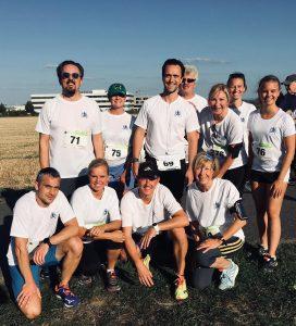 Team KörperManagement After Work Run 2019