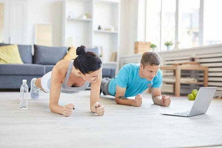 Fitness- und Präventionstraining als Online-Kurs